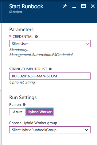 Your First Hello World Azure Automation Runbook - Silect Software Inc